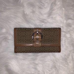 COACH- Tan used wallet